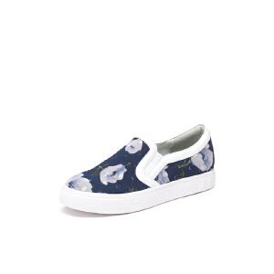 红蜻蜓旗下品牌 COOLALA女鞋休闲鞋秋冬鞋子女板鞋HCB7068