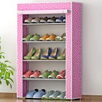 蜗家简易鞋柜防尘防潮鞋架简约现代多层收纳鞋柜05-1C