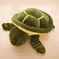 毛绒玩具小乌龟公仔超大号抱枕玩偶儿童生日礼物小海龟王八布娃娃 军