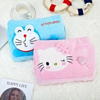 电热水袋猫暖手宝可拆卸电暖宝宝叮当猫电暖袋