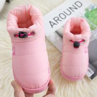 儿童棉拖鞋包跟男童冬季1-3岁婴幼儿2室内小孩家居鞋宝宝棉鞋女