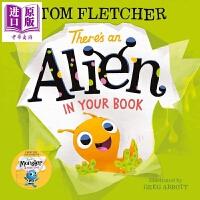 【中商原版】There's an Alien in Your Book你的书里有一只小外星人 低幼亲子互动故事绘本 英文