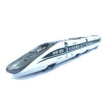 动车组模型 和谐号动车组模型 合金高铁火车可开门回力声光语音报站儿童玩具 +