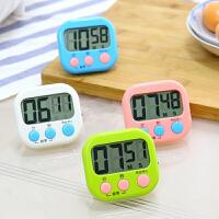 厨房定时器提醒器学生 电子正倒计时器秒表可爱闹钟记时器