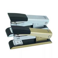 得力0341订书器 装订机 省力型订书机 彩色订书机 颜色随机
