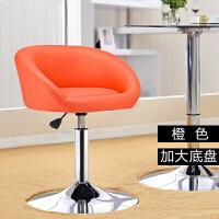 矮款吧台旋转椅子欧式时尚简约吧台凳酒吧椅子升降会客小椅子