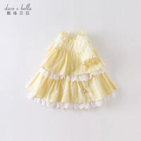 戴维贝拉女童连衣裙2020夏装新款童装宝宝连衣裙儿童洋气裙子