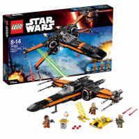 新品乐高星球大战75102 Poe的X翼战机LEGO STARWARS 积木玩具益智
