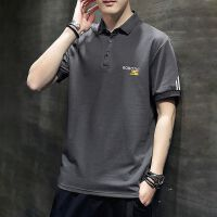 POLO衫男士短袖t恤翻领夏季韩版潮流纯棉体恤宽松半袖T