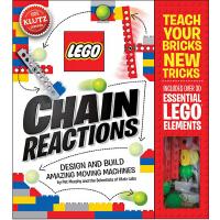 [现货]英文原版 Lego Chain Reactions 乐高 书籍 儿童读物