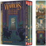 英文原版 Warriors Manga Box Set Graystripe's Adventure 灰条历险记3册