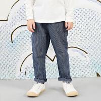 【秒杀价:153元】马拉丁童装男大童裤子春装2020年新款舒适休闲棉布长裤儿童裤子