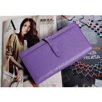 新款百搭韩版手拿包女式包户外休闲拉链长款女士钱包
