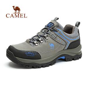 camel骆驼户外男款登山徒步鞋秋冬新品 防滑鞋