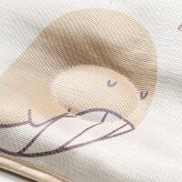 新生婴儿枕头0-1-3岁夏季冰凉透气吸汗夏天冰丝宝宝防偏头定型枕