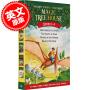 [现货]神奇树屋1-4套装 英文原版 Magic Tree House: Dinosaurs Before Dark1-4 盒装 Mary Pope Osborne's 玛丽.波.奥斯本 企鹅兰登出版