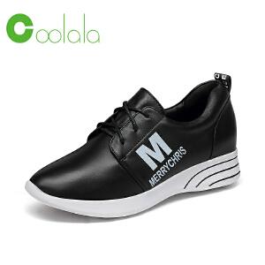 红蜻蜓旗下品牌COOLALA女鞋秋冬休闲鞋鞋子女HNB6711