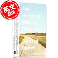 现货 英文原版 A History of Western Philosophy 西方哲学史 罗素
