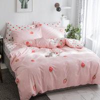棉四件套双人床品1.8m床上用品被套床单儿童三件套1.5米床y