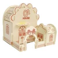 儿童拼装玩具木质拼图立体3d模型男女孩积木制飞机房子拼插