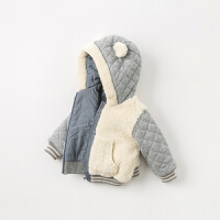 【夹棉】davebella戴维贝拉童装冬季新款男童保暖棉服DBA10921