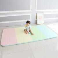 爬行垫折叠加厚4cm婴儿童xpe家用客厅地垫pu宝宝爬爬垫子T