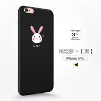 苹果6splus手机壳iPhone6plus女款6s硅胶套全包防摔个性创意六p新款sp软壳韩国i6s
