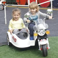 儿童电动三轮车儿童电动摩托车男女宝宝可坐童车电瓶双座小孩玩具车