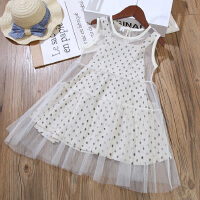 女童连衣裙夏季公主裙宝宝儿童背心裙子两件套