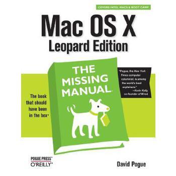 【预订】Mac OS X Leopard: The Missing Manual 预订商品,需要1-3个月发货,非质量问题不接受退换货。