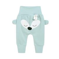 婴儿护肚裤0一1岁宝宝裤子儿童长裤新生儿春秋裤