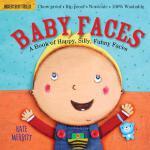 【现货】英文原版 防水无毒可咬婴幼儿玩具书:娃娃脸 Indestructibles: Baby Faces 0-2岁