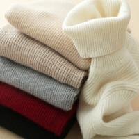 新年特惠2019新款纯色高领衫女套头修身纯针织打底衫紧身毛衣短款
