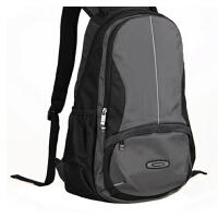 新款男休闲双肩包电脑包男大容量旅行防水便携包
