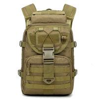 战术背包双肩包登山包旅行包书包男40L大容量多功能包包军 40升