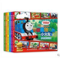 正版套装全6册 托马斯和朋友做最独特的小火车的书全套 儿童绘画漫画卡通故事书 3-6岁经典读物儿童书籍正版现货