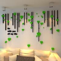 客厅沙发电视墙贴画婚房亚克力装饰 大型3D花创意立体墙贴