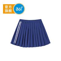 【下单立减到手价:62.7】361度童装 女童梭织短裙2019年夏季新品折叠短裙K61923581