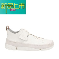 新品上市C男鞋春季英伦小白鞋运动休闲潮流三瓣鞋 White-海外代购 UK白色