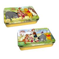 迪士尼卡通小熊维尼系列铁盒拼图J 共2盒