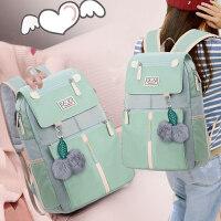 高中初中学生森系大学生书包女生新款时尚潮学院风双肩包韩版背包