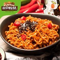 【三�B_火�u面5袋�b】�n���M口零食方便面食品宿舍速食干拌面泡面零食
