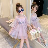 童装女童连衣裙春装儿童公主裙春秋小女孩洋气夏装纱裙子