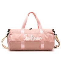 短途旅行包女韩版出差旅游袋轻便大容量潮运动健身包男手提行李包 大