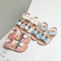 夏季儿童公主鞋大童小女孩宝宝凉鞋