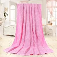 老式毛巾被 棉毛巾毯单人双人加厚空调毯儿童盖毯k
