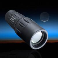 单筒望远镜  宽带镀膜8X40高倍高清微光望远镜 袖珍