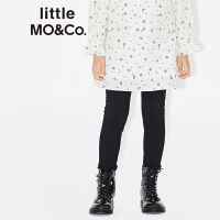 littlemoco百搭纯色小窄脚修身休闲运动打底长裤中通女KA1642PAT01 moco