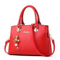 女士包包新娘包新款时尚大红色结婚包单肩斜挎大气女包手提包