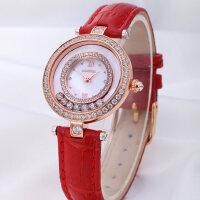 女表皮带 真皮韩版时尚潮流手表女防水石英表女士腕表